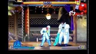 Shinnosuke Kagami-boss-LB01 (speed) (AI) vs White-boss-KOFXI stile (AI)