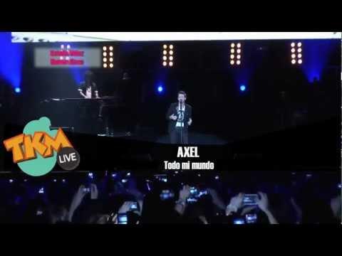 Axel en concierto Todo Mi mundo Tkm Live
