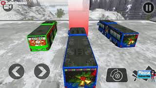 Off Road Hill Bus Driving 2017 / Bus Simulator Games / Android Gameplay Video #2