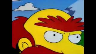 Simpsons The Shinning Bart and Willie