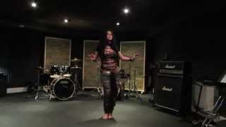 Diana Bastet Metal Belly Dance. AC/DC