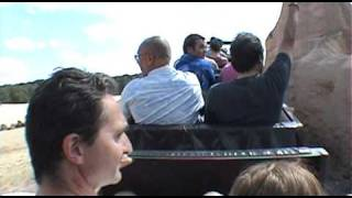 Train du Colorado Roller Coaster POV Onride Mer de Sable France
