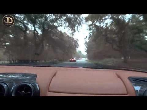 Bugatti Veyron vs Ferrari F43 2013 Supercar Drag Race