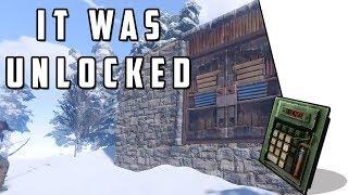 GEARED GUY LEFT HIS DOOR UNLOCKED | Rust Survival