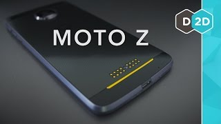 Moto Z Review - The Best Modular Phone!