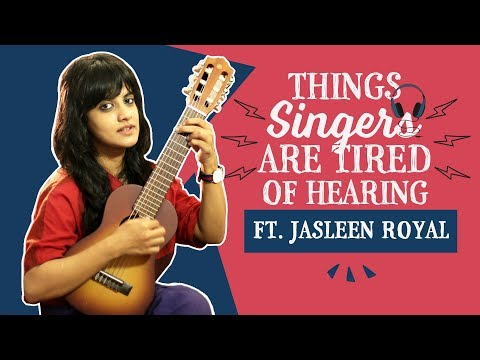 Xxx Mp4 Things Singers Are Tired Of Hearing Ft Jasleen Royal Pinkvilla Bollywood 3gp Sex