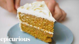 Carrot-Coconut Cake   Epi Classics   Epicurious