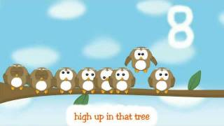 Kids Songs - Ten Little Owls - Counting for Kids