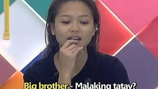 Miho, itinanong ang ibig sabihin ng Big Brother kay Kuya