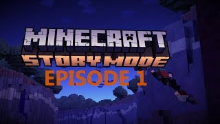 Minecraft Story Mode (Episode 1) - 1080P, HD,  Full Gameplay, No Commentary