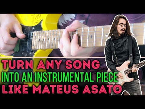 Cover Any Song In The Style Of Mateus Asato (How To)