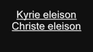Kyrie eleison - Christe eleison