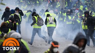 Paris Braces For Riots As Protests Sweep France | TODAY