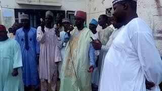 Majalisin Malam bashir dandago da yakeyi ranar sallah a unguwar Dogarai kano
