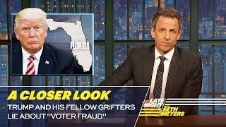 """Trump and His Fellow Grifters Lie About """"Voter Fraud"""": A Closer Look"""