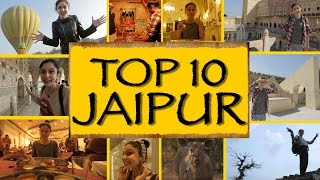 Top 10 Things To Do/See || Jaipur