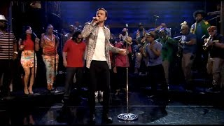 Justin Timberlake  Let The Groove Get In On Jimmy Fallon 2013 Hd