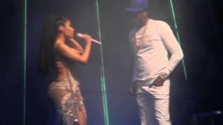 Nicki Minaj and Meek Mill - Anybody Wanna Buy a Heart (Live @ Barclays)