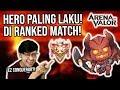 Download Video Hero Paling Laku di Ranked Match! Spam Terus! Auto Conqueror! - Arena of Valor 3GP MP4 FLV