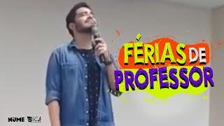Stand up - FERIAS DE PROFESSOR I