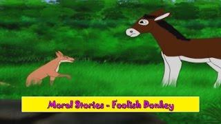 Foolish Donkey | Murkh Gadha | Moral Stories for Kids | Hindi Kahaniya for Children HD