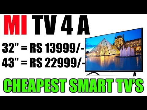 Mi Smart TV at 13999 only | Mi 32 Inch Smart TV | Mi 43 Inch Smart TV