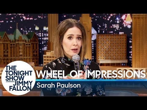 Wheel of Impressions with Sarah Paulson