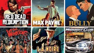 Top 10 BEST Rockstar Games Ever Released!