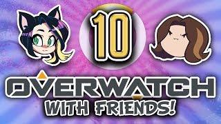 ► Overwatch w/ Egoraptor, Fey, Barry, & BlackDragon ► ALL TANK ► PART 10 - Kitty Kat Gaming