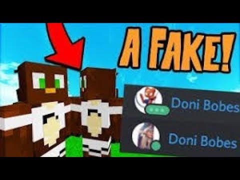 CONFRONTING A FAKE DONI BOBES ON SKYPE Minecraft Trolling