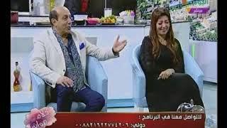"""بالفيديو الفنان""""أحمد صيام"""" يروى تفاصيل تعرفة على زوجتة """"رانيا بتاعت البن"""" وزوجتة ترد #بالمكنسة"""