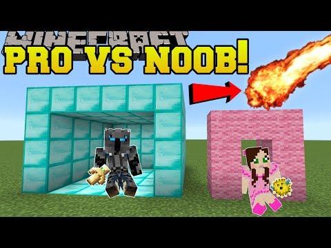 Minecraft NOOB VS PRO SURVIVE THE DISASTERS Mini Game