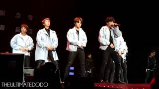 [FANCAM] 170323 BTS Baepsae 뱁새 @ The Wings Tour in Newark Day 1