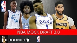 2019 NBA Mock Draft Following The Anthony Davis Trade | 1st-Round Picks v3.0