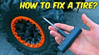 How to Fix Hole in a Tire EASY?