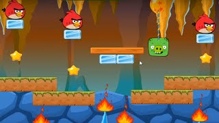 Angry Birds - Vs Bad Pig Bad Piggies Game Walkthrough All Levels 1-18