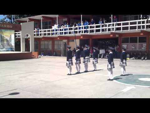Escolta De Bandera Secundaria Tecnica 20 Ensenada B.C.