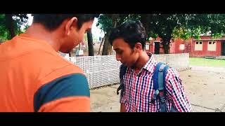 ভিতু ফ্রেন্ড # fanny natok# Post box Entertainment. #   Bangla Funny Video 2018  Bengali 420