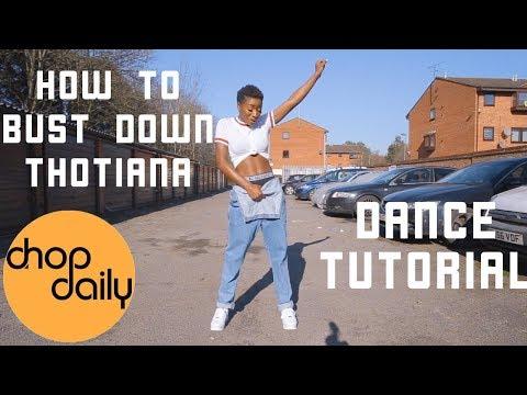Xxx Mp4 How To Bust Down Thotiana Dance Tutorial Chop Daily 3gp Sex