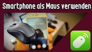 Smartphone als PC Maus verwenden | Android Tipps und Tricks | Remote Mouse