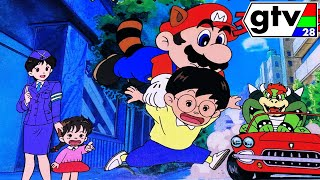 "Lost Super Mario Bros Movie Film Nintendo Anime Cartoon ""Traffic Safety"" Found! Japanese No Dub GTV"