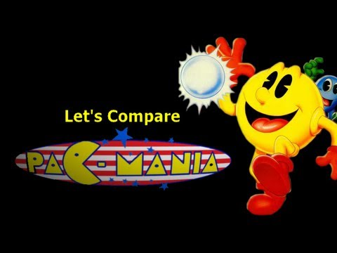 Let s Compare Pac Mania