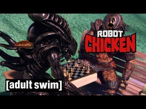 The Best of Alien Robot Chicken Adult Swim