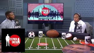 Ryan Clark surprises Stephen A. by putting Giants over Cowboys   The Stephen A. Smith Show   ESPN
