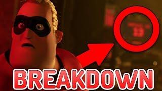 The Incredibles 2 Olympics Trailer BREAKDOWN! - Underminer, Jack Jack Powers & More