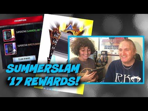 SummerSlam '17 KOTR & TBG Rewards! : WWE SuperCard S3 Ep93