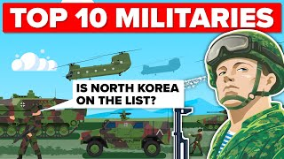 Top 10 Most Powerful Militaries in 2018 - Military / Army Comparison