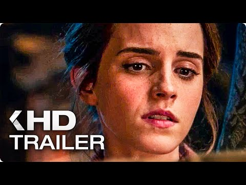 Beauty and the Beast ALL Trailers 2017