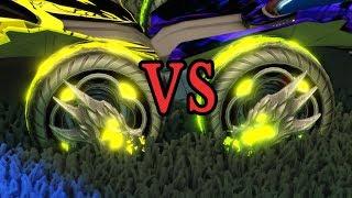 Lime Draco vs Saffron Draco (Similar Color Analysis)