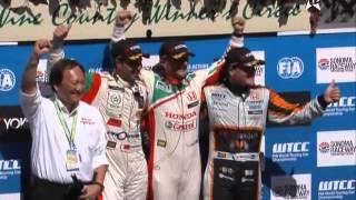 المهدي بناني يتالق في بطولة العالم لسباق السيارات
